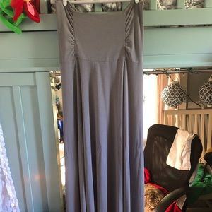 NWOT Athleta Grey maxi dress